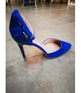 Zapato salón azulón